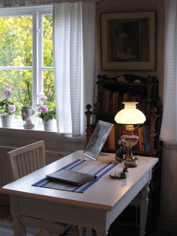 Skrivbordet i Everts kammare